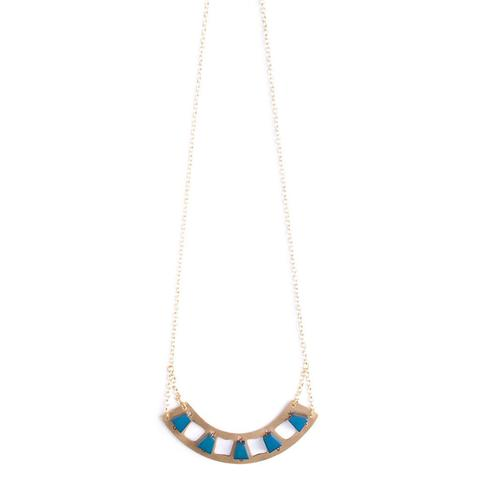 Layered Lunar Necklace