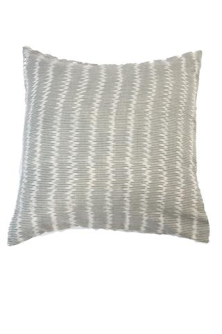 Hand Block Tan Artisan Pillow Cover