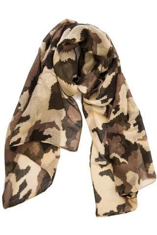 Abstract Camo in Brown